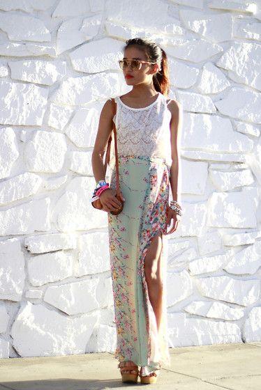 Stunning skirt - Look book