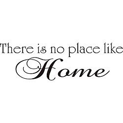 @Overstock.com - 'There is No Place Like Home' Vinyl Wall Art - Giving your wall a fresh look is easy with these vinyl peel-and-stick wall art quotes. This matte black vinyl quote reminds us that home is where we hang our hearts and can be applied easily to smooth surfaces, including walls, tile, and glass.  http://www.overstock.com/Home-Garden/There-is-No-Place-Like-Home-Vinyl-Wall-Art/5258075/product.html?CID=214117 CAD              39.41