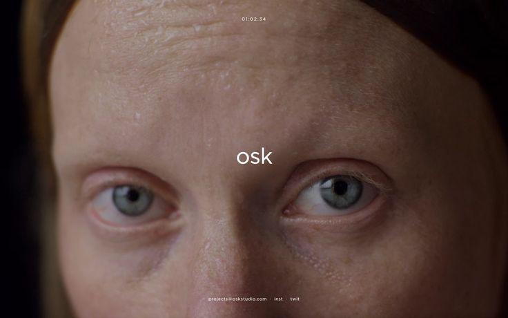 osk studio http://mindsparklemag.com/website/osk-studio/ Osk design studio portfolio website beautiful minimal webdesign beauty award site of the day