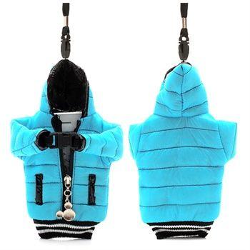 Universal veske til smartphone - Svart / Baby Blå