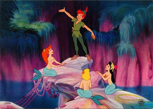 Mermaid Lagoon, My favorite scene from Peter Pan :)
