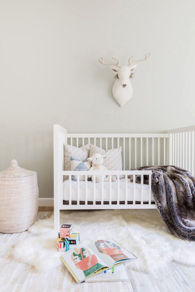 The neutral theme continues into the nursery, proving that lighter tones can work even with a toddler. Barnes made sure the space reflected the client's style needs while making sure it had all...