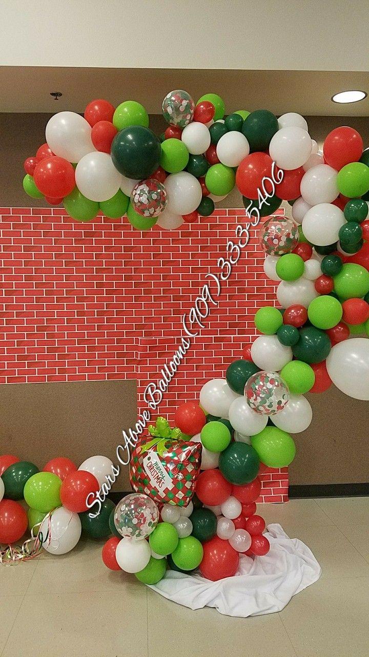 Christmas Balloon Garland Balloons