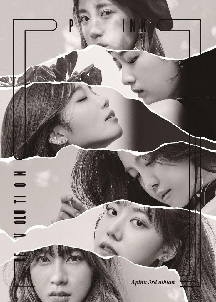 [ K-POP ] [Reservation] Poster + Apink - Album vol.3 [Pink Revolution] $15.42