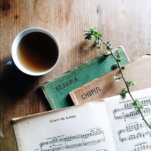 Tea Music Brahms Chopin Clair De Lune