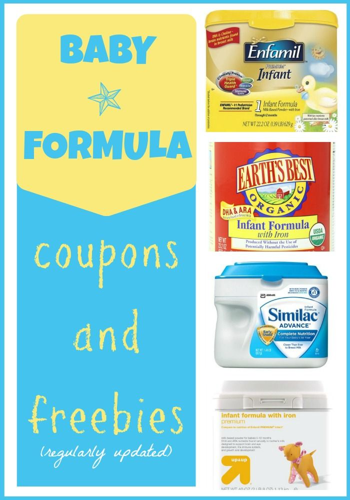 Save money with these baby formula coupons and freebies!