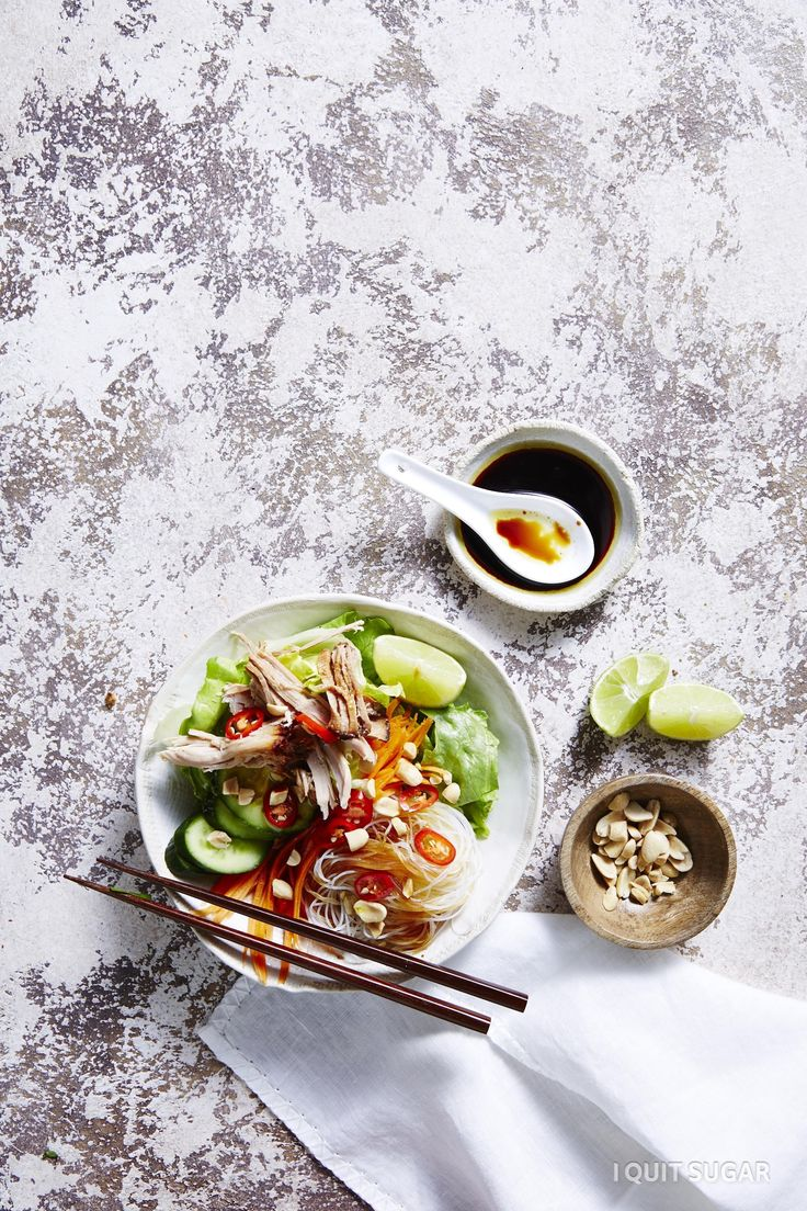 Vietnamese Vermicelli Bowl. This delicious meal is packed with flavour and yummy veg! It's bound to be a smash hit with the family and friends! – I Quit Sugar