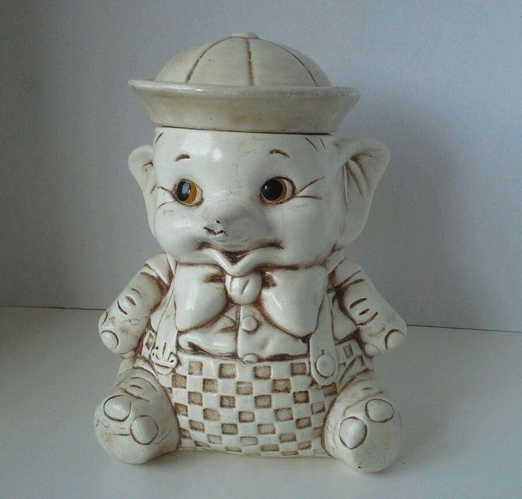 17 best images about vintage cookie jars on pinterest pillsbury vintage and a child - Vintage elephant cookie jar ...
