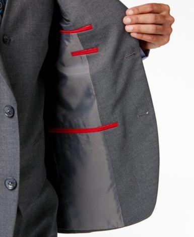 Alfani Men's Traveler Grey Solid Slim-Fit Suit Separates, Only at Macy's - Suits & Suit Separates - Men - Macy's