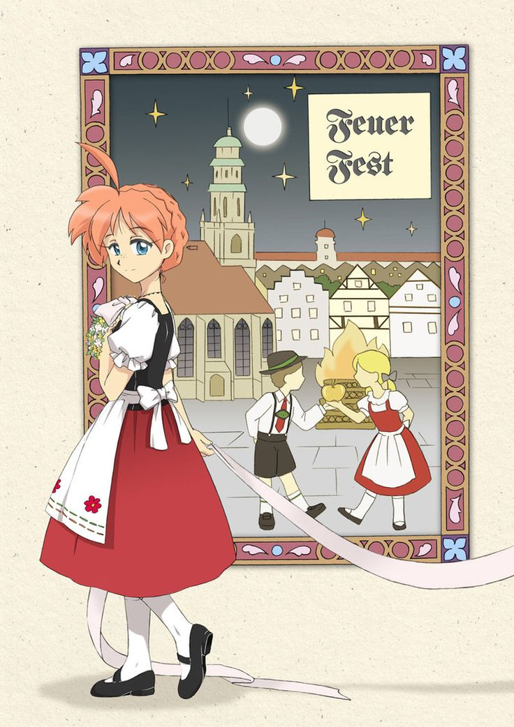 Feuer Fest - front cover by ~Mangaka-chan on deviantART