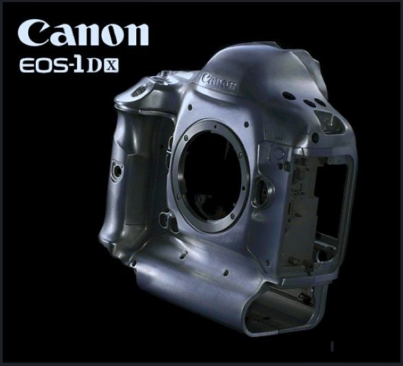 A perfect magnesium body for Canon EOS 1DX.