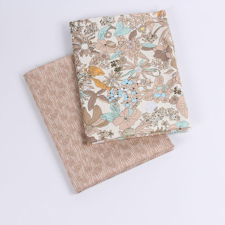 2016 neue ankunft baumwollgewebe 40*50 cm 2 teile/los design tissu tecidos DIY…