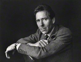Lord Snowdon | Roger George Clark | bromide print | 4 October 1979 8 7/8 in. x 11 1/2 inches | Purchased in 1982 by National Portrait Gallery Photographs Collection NPG x15116