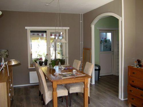 Voorbeeld toog van keuken naar hal keuken hal pinterest van - Voorbeeld van open keuken ...
