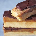 Healthy Homemade Twix Bars