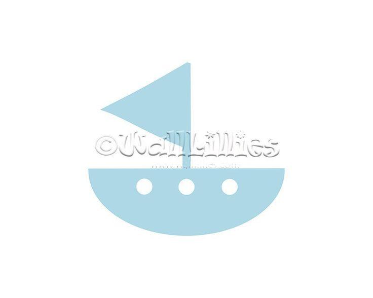Sail Boat Decal