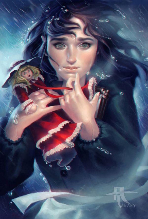 Little Princess Sarah by Amira Tanany, via Behance
