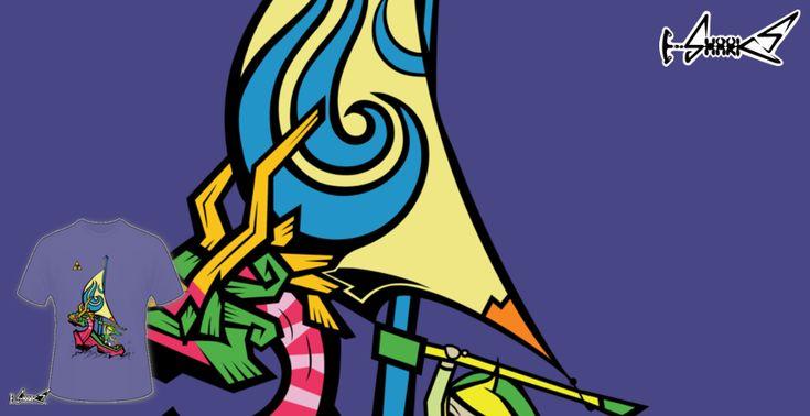 Magliette+Rider+on+the+Waves+-+Disegnato+da+:+Chesterika