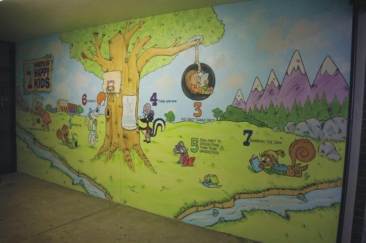 LES 7 habits mural.jpg | 7 habits | Pinterest | Leader in ...