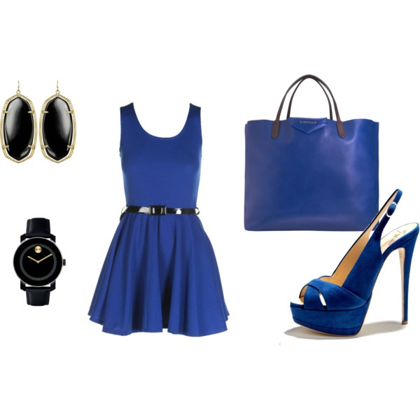Royal Blue, created by sol-de-novoa.polyvore.com