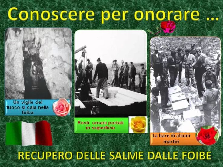 Video degli alunni di una scuola di Comiso in onore dei martiri delle foibe.