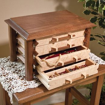 Fine Woodworking Plans For Tea Box