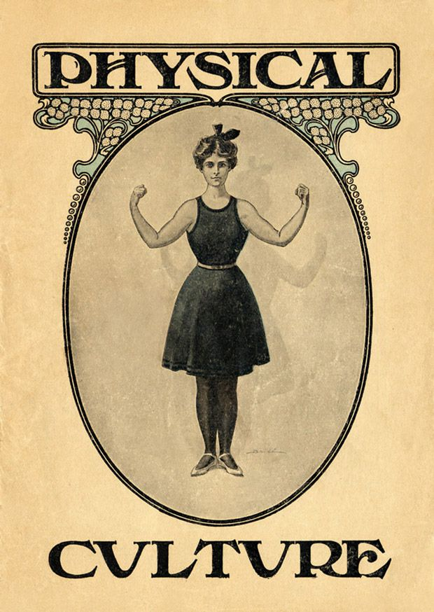 Venus with Biceps: A Pictorial History of Muscular Women   Brain Pickings