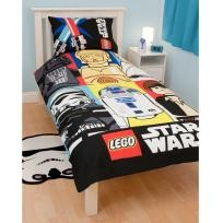 lego star wars bedding set includes duvet cover with measurement of 135 x 200 cm and pillowcase with measurement of 48 x 74 cm great way to decorate your