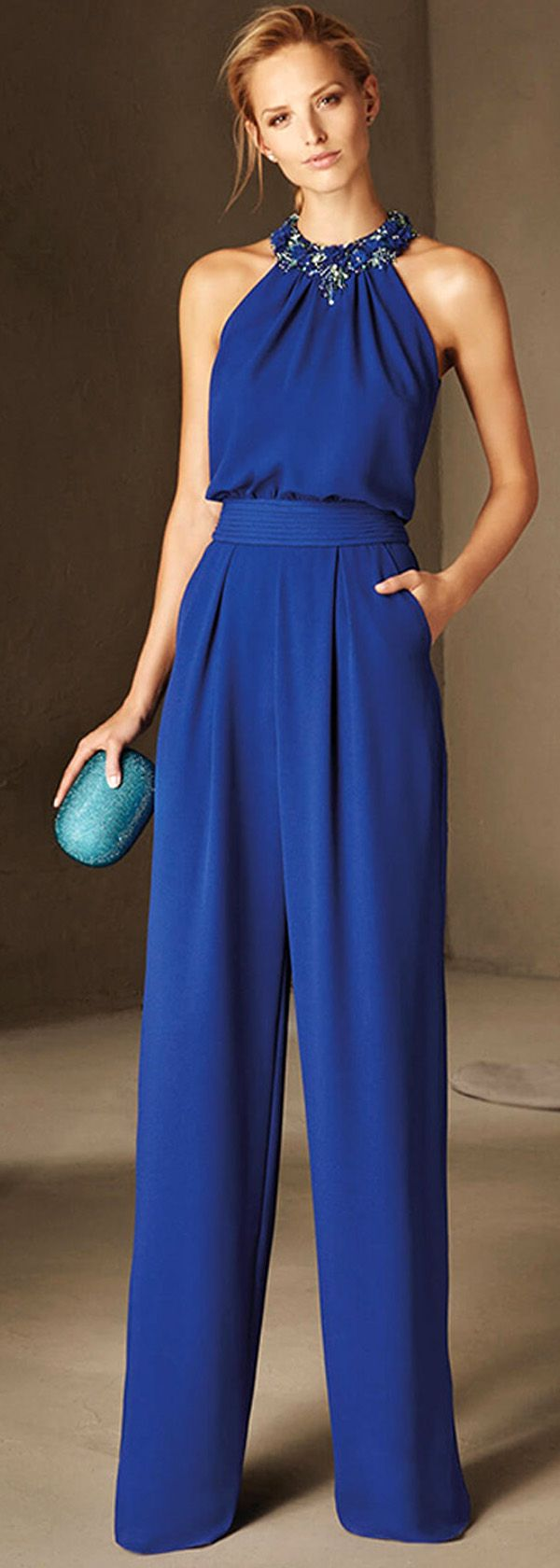 Attractive Chiffon Halter Neckline Full-length Evening Dresses More