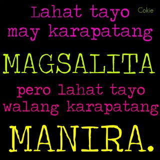 Quotes About Change Tagalog Tagalog Quotes , Manir...