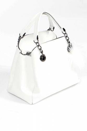 c4275a36a5a77 Ponpon Süslemeli El Çantası B114 Beyaz | Bayan Çanta | Bags, Bucket ...