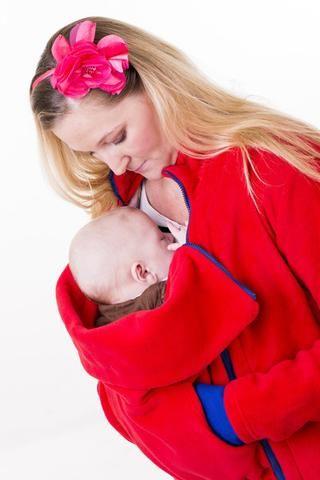 NANA babywearing coat - fleece