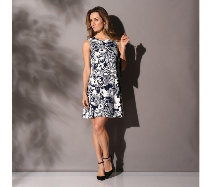 Úpletové šaty s potiskem | blancheporte.cz #blancheporte #blancheporteCZ #blancheporte_cz #dress