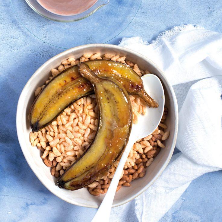 Bananarama puffed rice bowl - MyKitchen