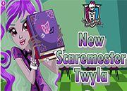 New Scaremester Twyla Monster High | Juegos Monster High - jugar online