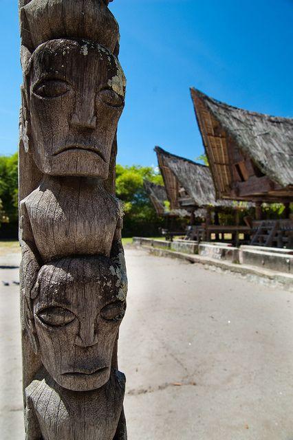 Simanindo, Samosir Island, Lake Toba, Sumatra, Indonesia