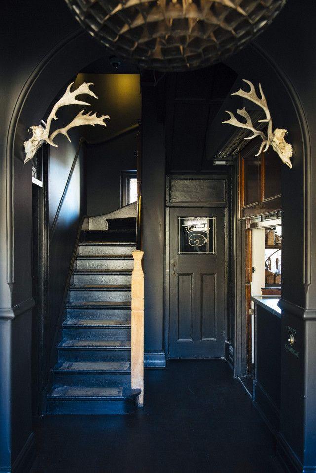 25 Best Ideas About Dark Interiors On Pinterest Black