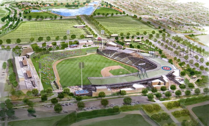 A family favorite - Annual trip? Training facilities, the new Chicago Cubs spring training facility