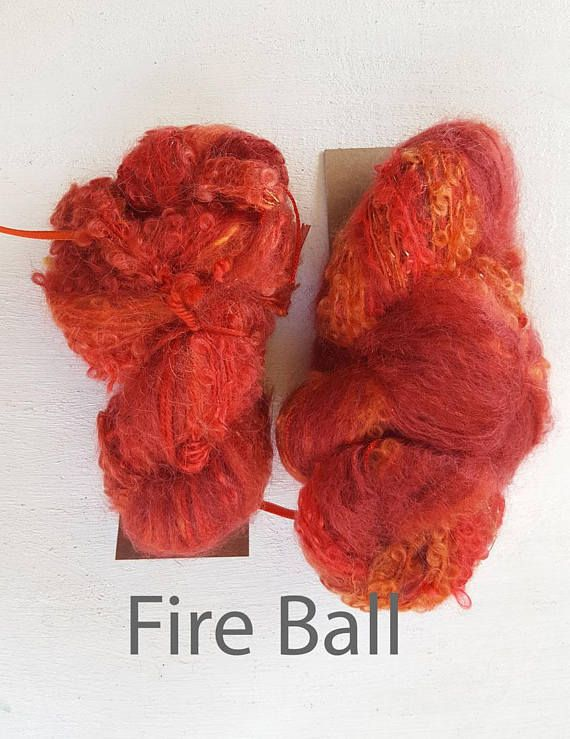 Mohair yarn artisan yarn art yarn crochet yarn knitting