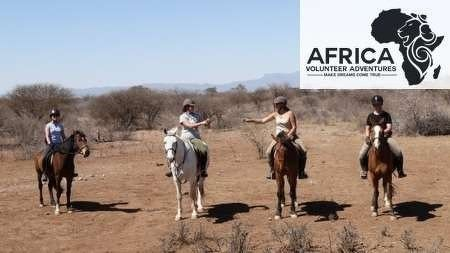 South Africa Conservation on Horseback Project with Africa Volunteer Adventures - take a look at www.africavolunteeradventures.com for more