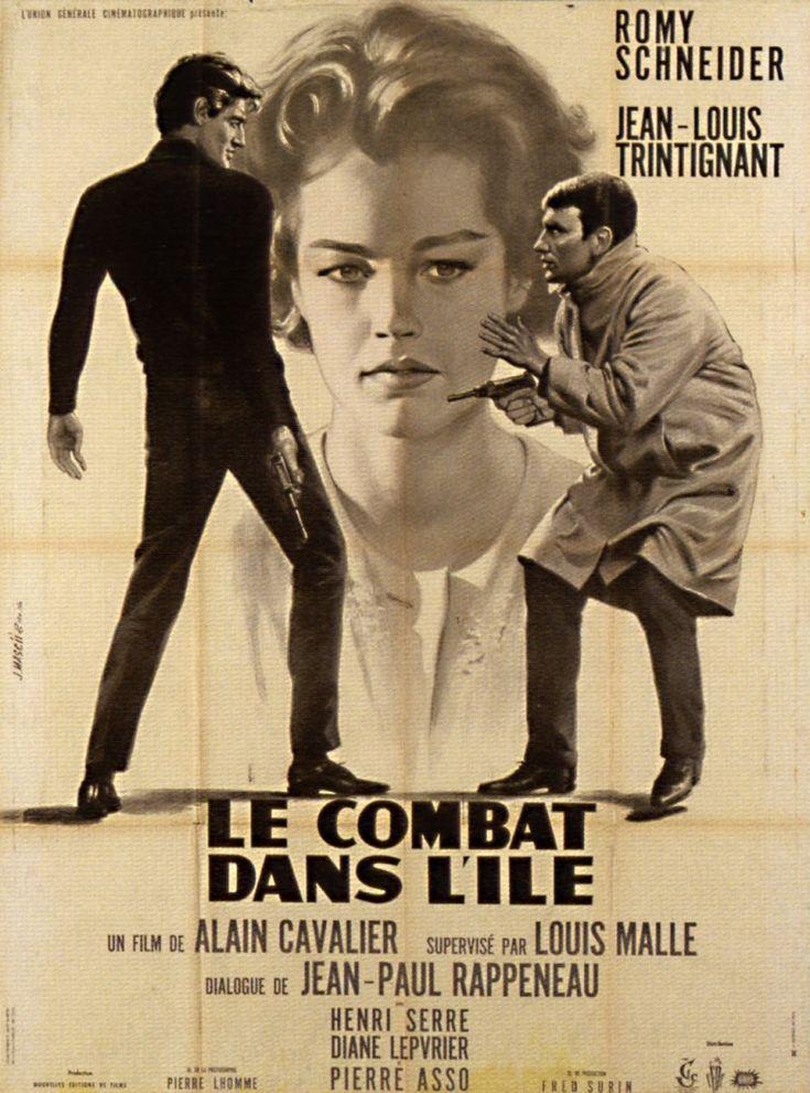Le combat dans l'île (1962) Stars: Romy Schneider, Jean-