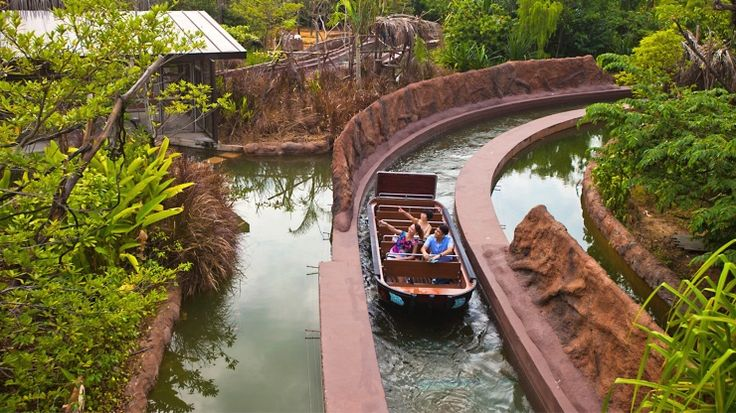 Meet manatees, monkeys and more as you ride the world's rivers at River Safari, Singapore.