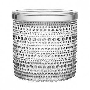 Iittala - Kastehelmi - Burk klar 11,6x11,4 cm