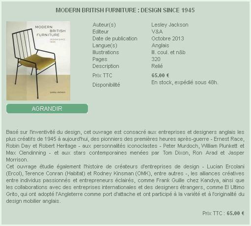 Modern British Furniture - Lardanchet