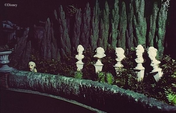 Some believe that one of the singing busts in the graveyard in the Haunted Mansion is Walt Disney. The image is actually of Thurl Ravenscroft who closely resembled Walt Disney's appearance.