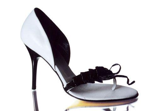 Judari Origami piton super chic sandals