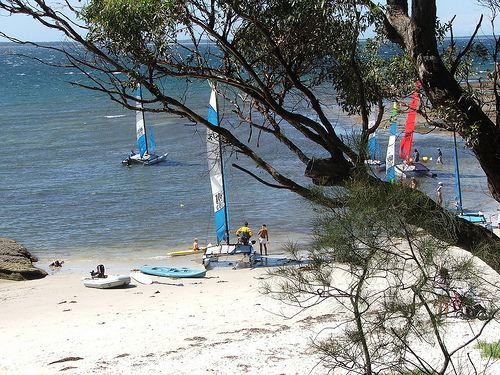 Spoilt for choice at Jervis Bay - Plantation Point