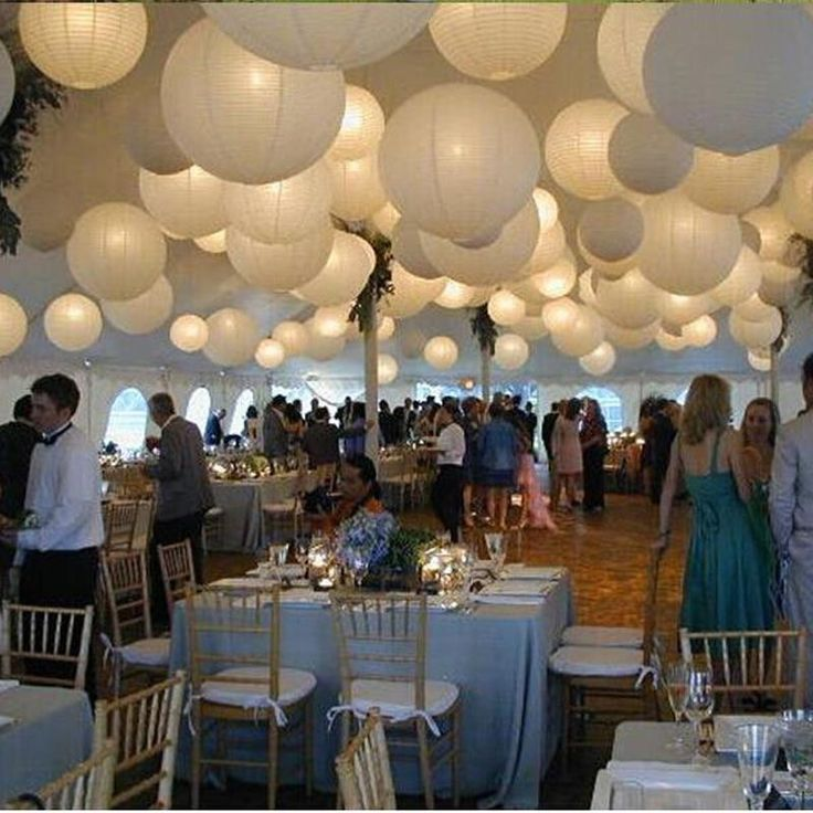 66 best intimate look and feel wedding reception images on pinterest new round chinese lantern white paper lanterns for wedding party decorations junglespirit Choice Image