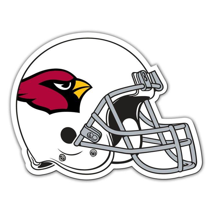 Arizona Cardinals Football Helmet Magnet