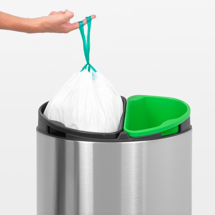 We Think The Brabantia Touch Twin Bin Is Ideally Suited For Any Kitchen.  For Additional